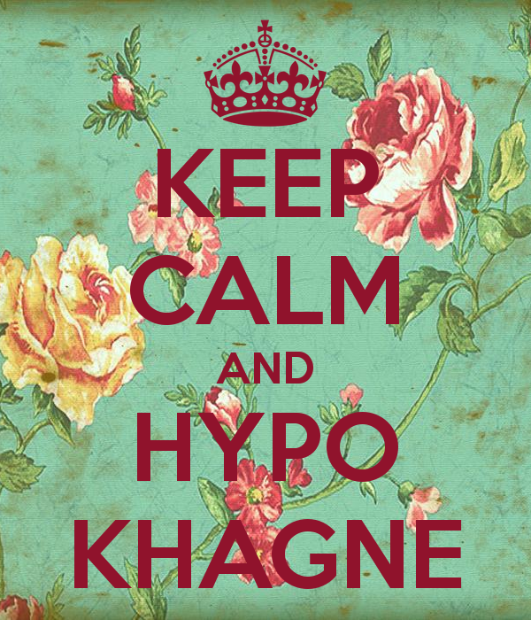 Hypokhagne 1